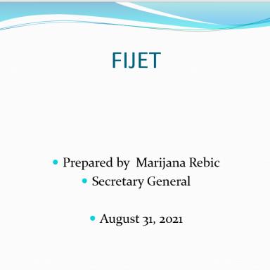 FIJET report 2Q 2021