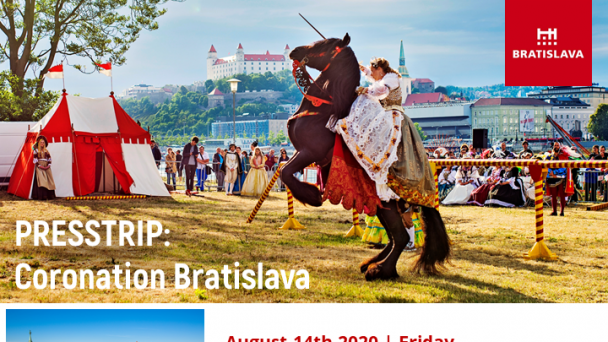 Bratislavská organizácia cestovného ruchu (BTB) organiizuje v termíe 14. - 16.08.2020  press-trip pre novinárov z Česka,  Rakúska a Nemecka.