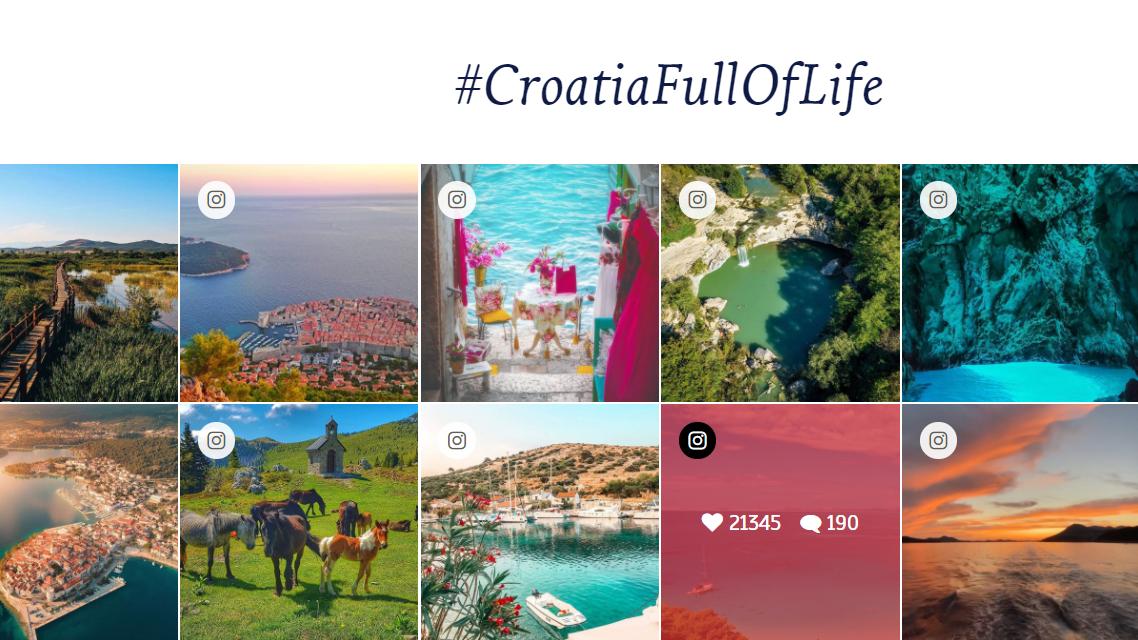 Chorvátsko  -  tento rok  počas osem mesiacov   10,7 milióna turistov,  s priemerným počtom prenocovaní   6,8/osoba