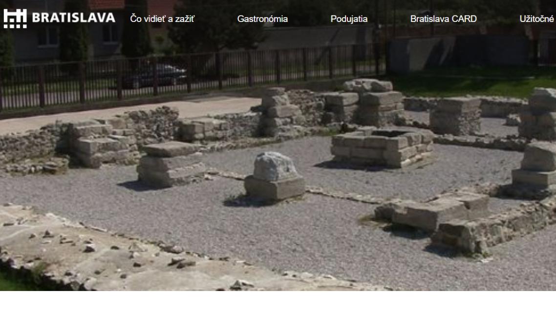 GERULATA  v Rusovciach Bratislava a Kelamantia v Iži Komárno - v  zozname UNESCO