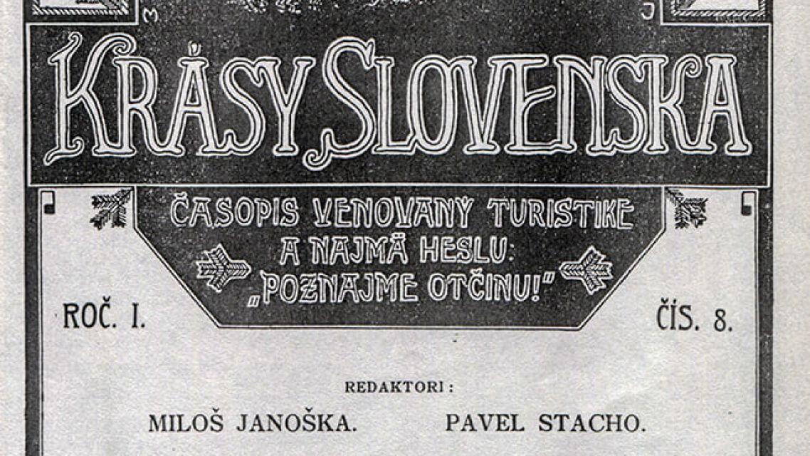 Časopis Krásy Slovenska oslavuje 100 rokov existencie
