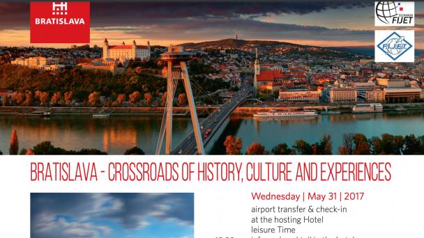 Bratislava - Crossroads of history, culture and experiences
